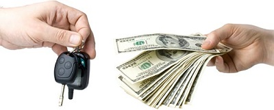 exchange car keys for cash